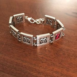 Brighton Go Red Limited Edition Red Dress Bracelet